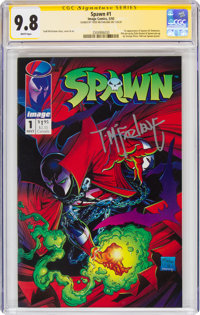 Spawn #1 Signature Series - Signed by Todd McFarlane (Image, 1992) CGC NM/MT 9.8 White pages