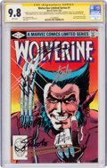 Modern Age (1980-Present):Superhero, Wolverine #1 Signature Series (Marvel, 1982) CGC NM/MT 9.8 White pages....