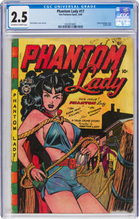 Phantom Lady #17 (Fox Features Syndicate, 1948) CGC GD+ 2.5 Off-white to white pages