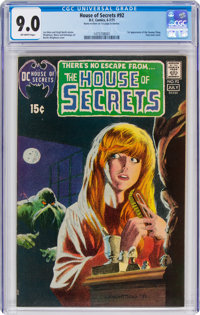 House of Secrets #92 (DC, 1971) CGC VF/NM 9.0 Off-white pages