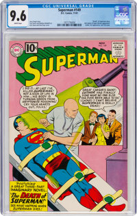 Superman #149 (DC, 1961) CGC NM+ 9.6 White pages