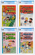 Bronze Age (1970-1979):Cartoon Character, Richie Rich and Jackie Jokers CGC-Graded Group of 4 (Harvey, 1978-82) CGC NM/MT 9.8.... (Total: 4 Comic Books)