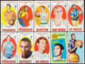 Basketball Cards:Lots, 1969-1972 Topps Basketball Collection (200)....