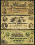 Fayetteville, NC- Bank of Fayetteville $2 May 5, 1853 Very Good; Newbern, NC- Bank of Commerce <... (Total: 3)