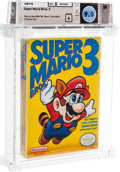 "Video Games:Nintendo, Super Mario Bros. 3 - Wata 9.0 A Sealed [Bros. ""Left, First Production], NES Nintendo 1990 USA...."