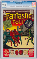 Silver Age (1956-1969):Superhero, Fantastic Four #11 Curator Pedigree (Marvel, 1963) CGC VF/NM 9.0 White pages....
