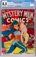 Golden Age (1938-1955):Superhero, Mystery Men Comics #3 (Fox, 1939) CGC VF+ 8.5 Off-white to white pages....