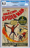 Silver Age (1956-1969):Superhero, The Amazing Spider-Man #1 (Marvel, 1963) CGC VF+ 8.5 Off-white pages....
