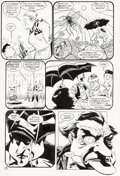 Original Comic Art:Panel Pages, Kelley Jones and John Beatty Batman #548 Story Page 7 Original Art (DC Comics, 1997)....
