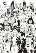 Original Comic Art:Illustrations, George Pérez Avengers/JLA Illustration Original Art (c. 2002)....