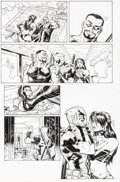 Original Comic Art:Panel Pages, Reilly Brown and Nelson DeCastro Deadpool: The Gauntlet #5 Story Page 10 Original Art (Marvel/Infinite, 2014)....