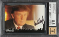 Non-Sport Cards:General, Signed 2005 The Apprentice Donald Trump (Autographs) #DT1 BGS NM-MT+ 8.5, Auto 8. ...