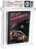 Video Games:Nintendo, Star Voyager - Wata 9.4 A Sealed [Hangtab, Early Production], NES Acclaim 1987 USA....