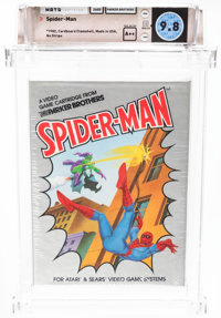 Spider-Man - Wata 9.8 A++ Sealed, 2600 Parker Brothers 1982 USA