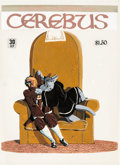 Original Comic Art:Covers, Dave Sim Cerebus #30 Cover Painting Original Art (Aardvark-Vanaheim, 1981)....