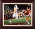 Football Collectibles:Others, 2000's Vince Young Signed Giclee by Douglas C. Hess....