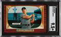 Baseball Cards:Singles (1950-1959), 1955 Bowman Mickey Mantle #202 SGC Mint+ 9.5 - Pop One, None Higher!...