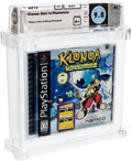 Video Games:Playstation, Klonoa: Door to Phantomile - Wata 9.8 A+ Sealed [Sony Security Label], PS1 Namco 1998 USA....