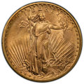 Saint-Gaudens Double Eagles, 1908-D $20 No Motto MS64 PCGS. PCGS Population: (1643/302 and 52/8+). NGC Census: (611/49 and 5/1+). CDN: $1,954.40.Whsle. ...