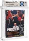Video Games:Nintendo, Mike Tyson's Punch-Out!! - Wata 9.2 B Sealed [Rev-A, Round SOQ, Mid-Production], NES Nintendo 1987 USA....