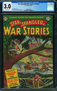 Star Spangled War Stories 133 (#3) (DC, 1952) CGC GD/VG 3.0 OFF-WHITE pages