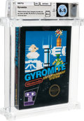 Video Games:Nintendo, Gyromite - Wata 6.0 A++ Sealed [Matte Sticker, First Production], NES Nintendo 1985 USA....