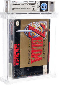 The Legend of Zelda: A Link to the Past - Wata 8.5 B Sealed, SNES Nintendo 1992 USA