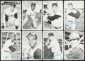 Baseball Cards:Sets, 1969 Topps Deckle Edge Baseball High Grade Complete Set (33) With Both Variations. ...