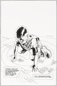 Kevin Nowlan Tomorrow Stories #1 Complete 8-Page Story Jack B. Quick First Appearance Original Art (DC/America's B... (T...