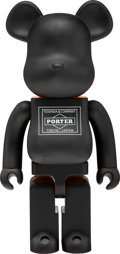 Collectible, BE@RBRICK X Porter. Porter 1000%, 2016. Painted cast vinyl. 28 x 13-1/2 x 9-1/2 inches (71.1 x 34.3 x 24.1 cm). Stamped ...