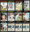 Baseball Cards:Lots, 1971 Topps Baseball Collection (237) With Stars. ...
