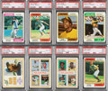 Baseball Cards:Sets, 1974 Topps Baseball High Grade Complete Set (660) Plus 3 Traded Sets (132) With Factory Set Box. ...