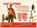 """Movie Posters:Western, The Good, the Bad and the Ugly (United Artists, 1968). Very Fine- on Linen. British Quad (30"""" X 40"""").. ..."""