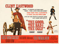 """The Good, the Bad and the Ugly (United Artists, 1968). Very Fine- on Linen. British Quad (30"""" X 40"""")"""