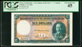 World Currency, Straits Settlements Government of the Straits Settlements 10 Dollars 1.1.1935 Pick 18b KNB22e PCGS Extremely Fine 45.. ...