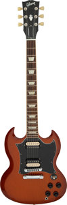 Musical Instruments:Electric Guitars, 2012 Gibson SG Sunburst Solid Body Electric Guitar, Serial #117121386.. ...