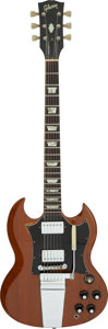 Musical Instruments:Electric Guitars, 1971 Gibson SG STD Walnut Solid Body Electric Guitar, Serial #968459.. ...
