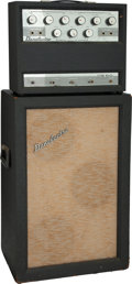 Musical Instruments:Amplifiers, PA, & Effects, 1965 Danelectro DS-50 Gray Guitar Amplifier.. ...