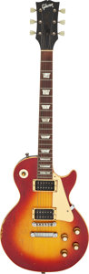 Musical Instruments:Electric Guitars, 1971 Gibson Les Paul Sunburst Solid Body Electric Guitar, Serial #612309.. ...