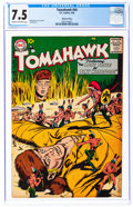 Silver Age (1956-1969):Adventure, Tomahawk #54 Mohawk Valley Pedigree (DC, 1958) CGC VF- 7.5 Cream to off-white pages....