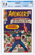 Silver Age (1956-1969):Superhero, The Avengers #16 (Marvel, 1965) CGC VF- 7.5 Off-white pages....