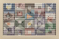 Prints & Multiples, Yaacov Agam (b. 1928). Untitled, late 20th century. Screenprint in colors on card. 25-3/4 x 38-1/2 inches (65.4 x 97.8 c...