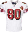 Football Collectibles:Uniforms, 1996 Jerry Rice Game Worn San Francisco 49ers Jersey--Photo Matched to 12/15 at Pittsburgh!...