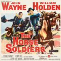 """Movie Posters:Western, The Horse Soldiers (United Artists, 1959). Folded, Fine/Very Fine. Six Sheet (80.5"""" X 80.75"""").. ..."""
