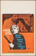 "Movie Posters:Crime, The Night of the Following Day & Other Lot (Universal, 1969). Very Fine-. Window Cards (2) (14"" X 22""). Crime.. ... (Total: 2 Items)"