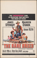 """Movie Posters:Western, The Rare Breed & Other Lot (Universal, 1966). Very Fine-. Window Card (14"""" X 22""""). Reynold Brown Artwork. Western.. ... (Total: 2 Items)"""