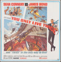 """Movie Posters:James Bond, You Only Live Twice (United Artists, 1967). Folded, Very Fine. Six Sheet (79"""" X 80""""). Frank McCarthy and Robert McGinnis Art..."""