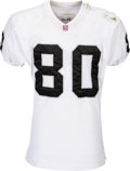 Football Collectibles:Uniforms, 2001 Jerry Rice Game Worn & Unwashed Oakland Raiders Jersey - Used 12/15 vs. Chargers....
