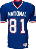 Football Collectibles:Uniforms, 1990 Jerry Rice Game Worn Pro Bowl Jersey....