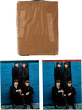 Music Memorabilia:Memorabilia, The Beatles Set of Six Notebooks: Two Top Cloth Bound,Six in Package by Louis F. Dow Co. USA (8) (1964). ... (Total: 8 Items)